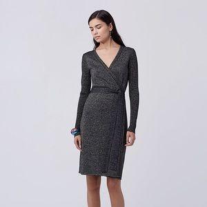 Diane Von Furstenberg Evelyn Knit Wrap Dress